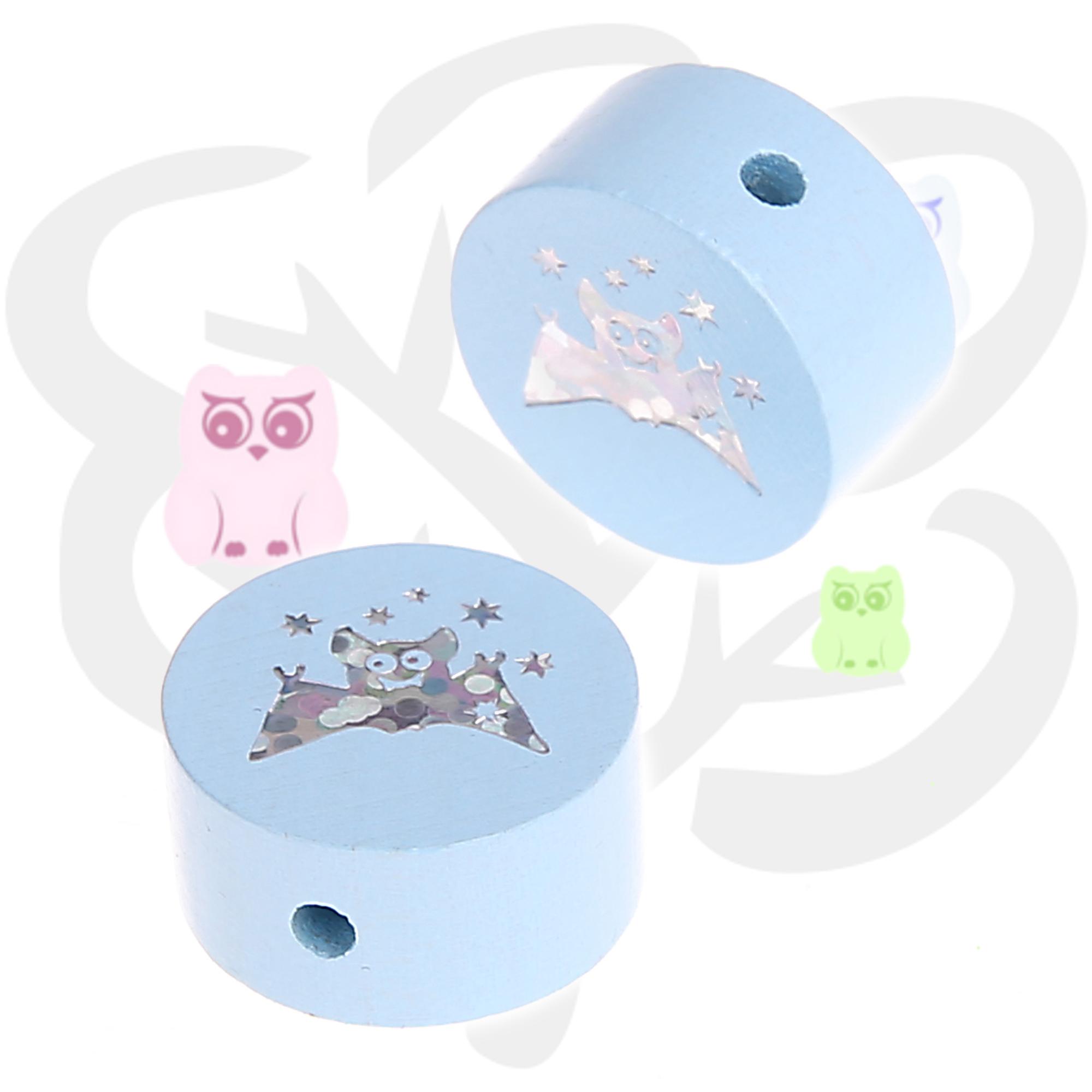 motivperle fledermaus flederm use motivperlen schnullerkette schnullerketten. Black Bedroom Furniture Sets. Home Design Ideas